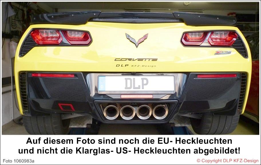 C7 NSL u. d. Kennzeichen für das US- / EU- Modell | DLP KFZ-Design